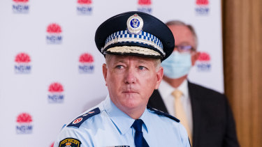 NSW Police Commissioner Mick Fuller has warned anyone against protesting this weekend.