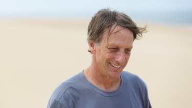 """Tony Hawk: """"I've managed to get control of, but the most challenging factor in my relationships remains travel and prioritising my time."""""""