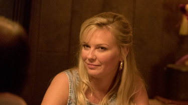 Kirsten Dunst as Krystal Stubbs in On Becoming a God in Central Florida.