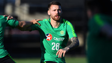 Bitter blow: Socceroos winger Martin Boyle has been ruled out of the entire Asian Cup.