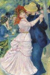 Pierre Auguste Renoir's Dance at Bougival (1883).
