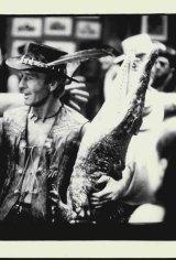 Paul Hogan and friend in Crocodile Dundee.