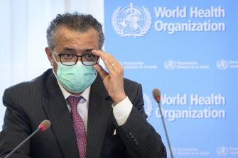 "Tedros Adhanom Ghebreyesus said he was asking China ""to be transparent""."