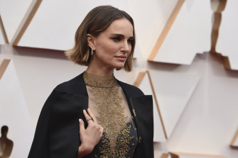 Actress Natalie Portman, pictured at the Oscars, stars in the Dior commercial.
