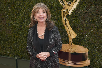 Dawn Wells arrives at the Daytime Creative Arts Emmy Awards at the Westin Bonaventure Hotel in Los Angeles in April 2016.