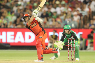 Brad Hodge in action for the Renegades in the BBL.
