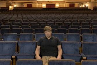Jason Mariner di Regent Theatre pada penutupan tahun lalu.