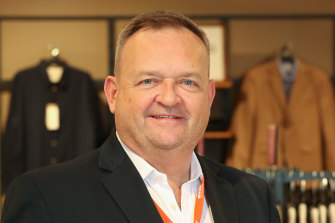 Myer CEO John King said he has no intention of stepping down from the troubled retailer.