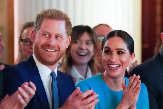 Prince Harry and his wife Meghan, pictured, have moved to Los Angeles.