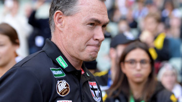 St Kilda coach Alan Richardson