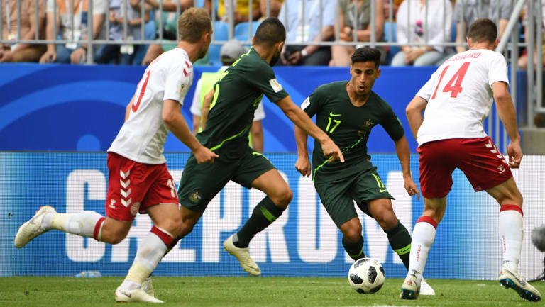 Parting gift: Daniel Arzani is the last gem refined by the AIS program before it was cut by the FFA.
