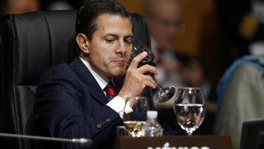 Mexico's President Enrique Pena Nieto.
