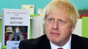 """UK Prime Minister Boris Johnson told schoolchildren he """"did nothing except Latin and Greek for about 20 years and now I'm running the country""""."""