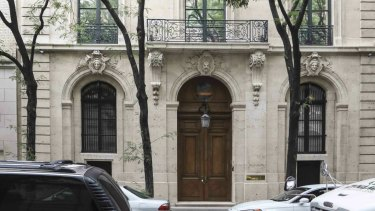 Investigators combed the seven-storey Manhattan residence of Jeffrey Epstein.