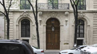 Jeffrey Epstein's New York house has been valued at around $US77 million.