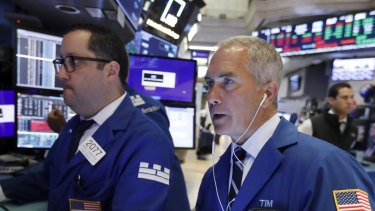 Wall Street slid lower on Monday.