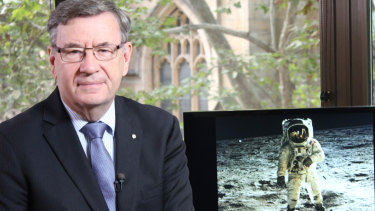 Dr Glenn Davies spoke of the moon landings and the importance of the Resurrection.