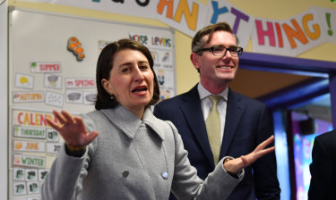 NSW Premier and Gladys Berejiklian and Treasurer Dominic Perrottet handed down the state budget on Tuesday.