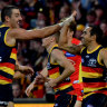 Betts kicks a bag as Crows claim a win to remember over Suns