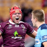 'That was State of Origin': Reds claim bragging rights over Waratahs in bruising clash
