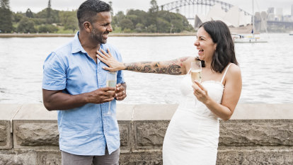 'Baffled': Allyson proposed to her partner, then came the questions