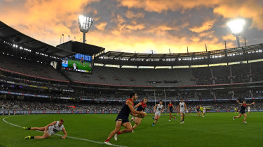 The MCG and other stadia will return to 85 per cent capacity next week.