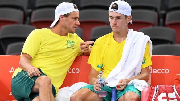 Hewitt derides 'money grab' change to Davis Cup; Australia's tie in limbo