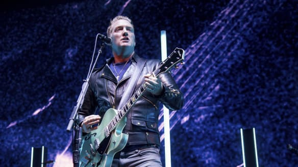 A funny tummy can't stop Josh Homme's QOTSA laying down sick groove