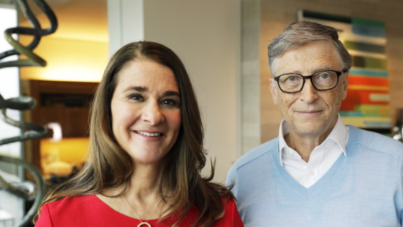 Not a charade: Bill, Melinda Gates defend billionaire philanthropists