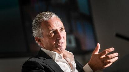 Telstra boss Andy Penn settles in for the long haul