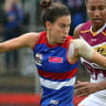 Bulldogs win thrilling AFLW grand final against Lions