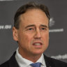 Health Minister Greg Hunt said Australians have been protected from the brunt of the pandemic.
