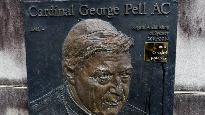The Chaser's war on the church over Pell plaque made permanent