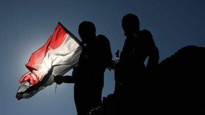Rocket hit on US embassy in Baghdad