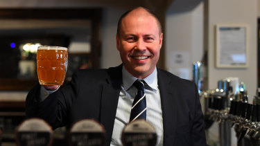 Federal Treasurer Josh Frydenberg is being lobbied to temporarily dump an automatic CPI-linked hike in the price of beer and spirits.
