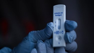 Rapid antigen tests will become part of testing in workplaces and homes in the near future, the health minister says.