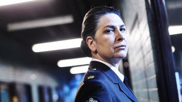 "Pamela Rabe plays Joan ""The Freak"" Ferguson."