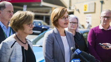 ACT Health Minister Meegan Fitzharris will consider nurse to patient ratios