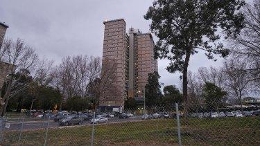 The Flemington public housing towers.