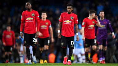 Manchester United won on Thursday but it was not enough to get them through to the final.