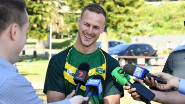 Off-field leader: Daly Cherry-Evans has joined the RLPA board.