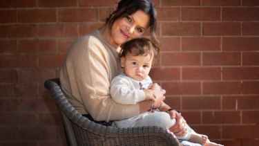 Diana Cassar with her son Alexei, 1, is eager to restart IVF treatment with the lifting of the ban.