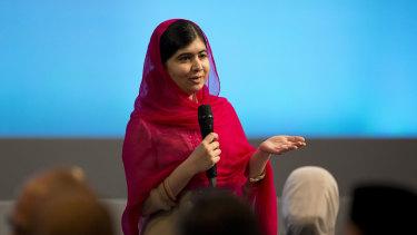 Malala Yousafzai in London last month.