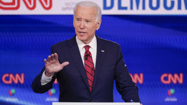 "The Trump campaign is now describing Joe Biden as a ""master"" when it comes to debate in order to raise expectations for the Democratic nominee."
