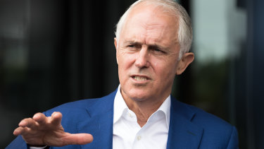 Former prime minister Malcolm Turnbull says Canberra is damaging the NSW government.