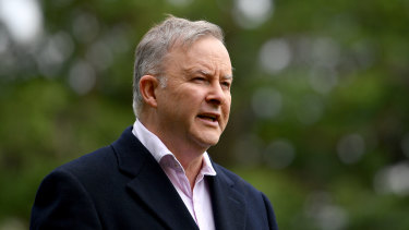 "Labor leader Anthony Albanese says the size of the problem with JobKeeper was so large ""it could be seen from space""."