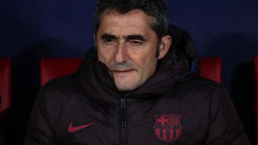 Former Barcelona coach Ernesto Valverde.