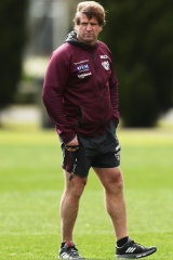 It takes a unique individual to coach Manly, and that unique individual is Des Hasler.
