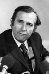 The runaway British MP, John Stonehouse.