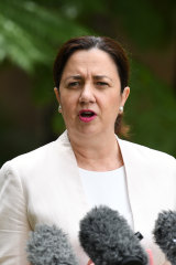 Queensland Premier Annastacia Palaszczuk is refusing to soften the border restrictions for the NRL.